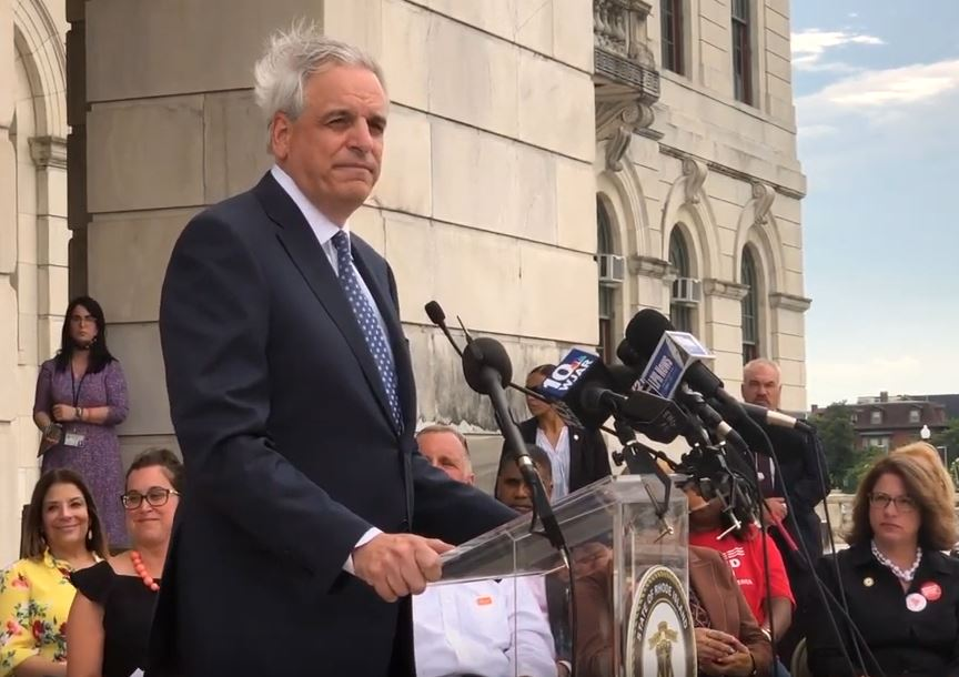 Atty. Gen. Neronha Supports Gun Safety Reform Bills