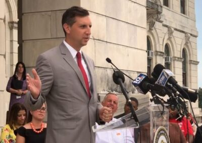 Gen. Treasurer Seth Magaziner Supports CGVPRI Bills