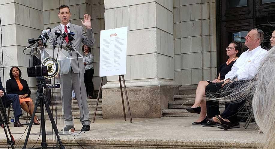 Gen. Treasurer Seth Magaziner Support Gun Safety Bills