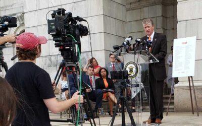 Governor McKee Supports Gun Bills at Press Conference