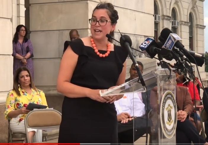 Rep. Justine Caldwell Speaks Out for Gun Safety Bills