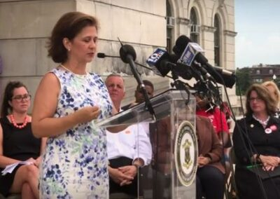 Sec. of State Nellie Gorbea supports gun safety reform bills
