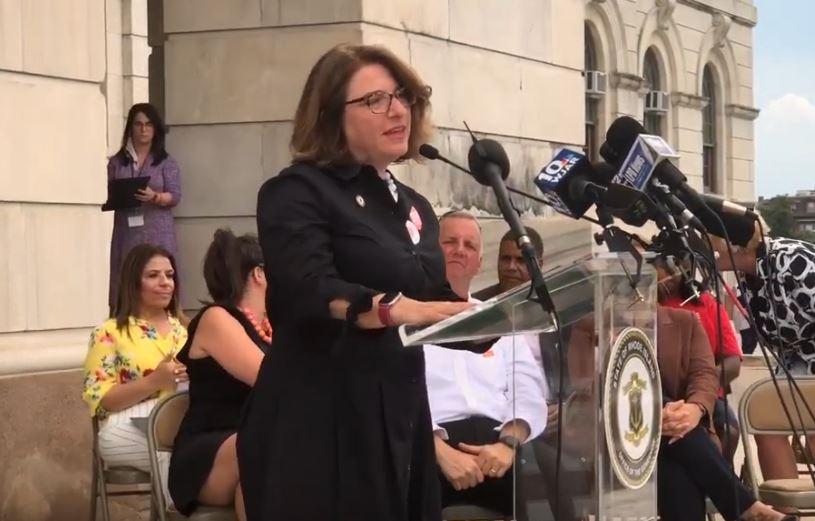 Sen. Gayle Goldin Speaks Out on Gun Safety Bills