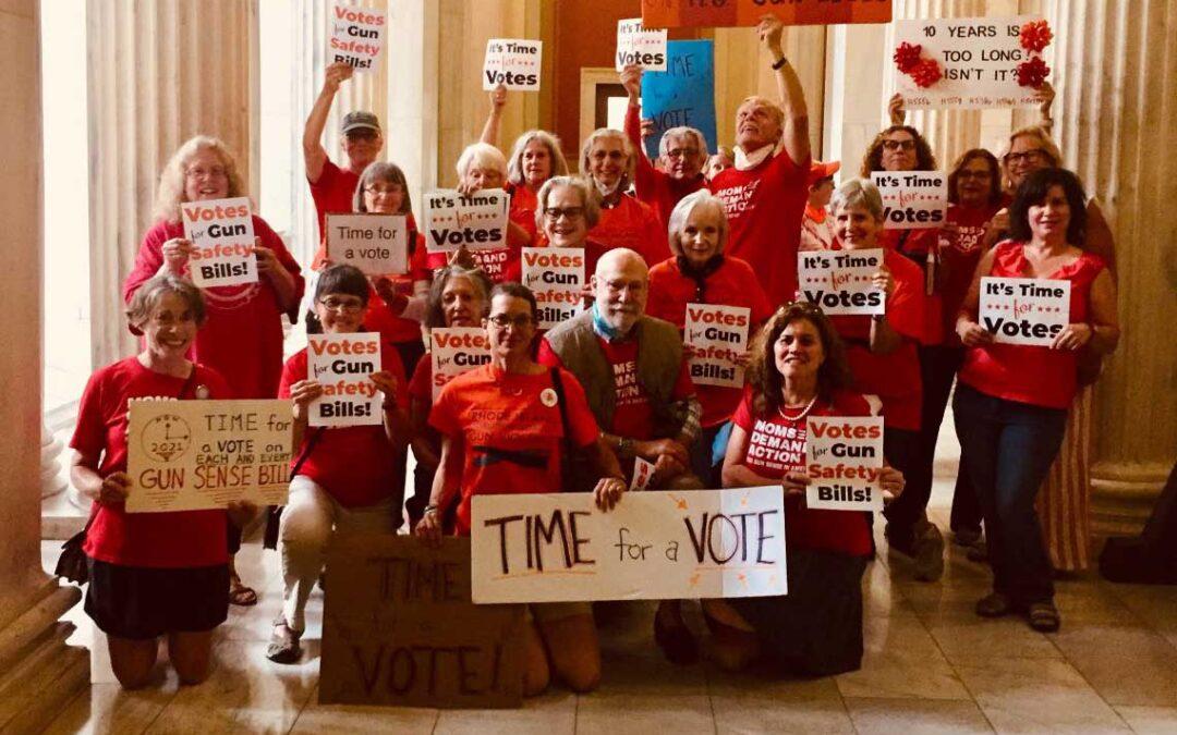 2021 Floor Votes for Gun Safety Bills