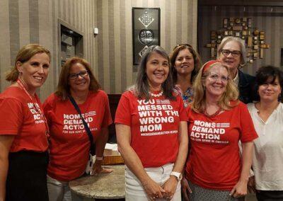 Jen, Sarah - RICAGV Moms Demand Action RI Thank You Party 2021