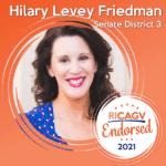 RICAGV Endorses Hilary Levey Friedman for RI Senate District 3