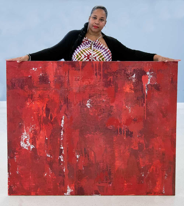 Red Rain by Gem Barros 2021
